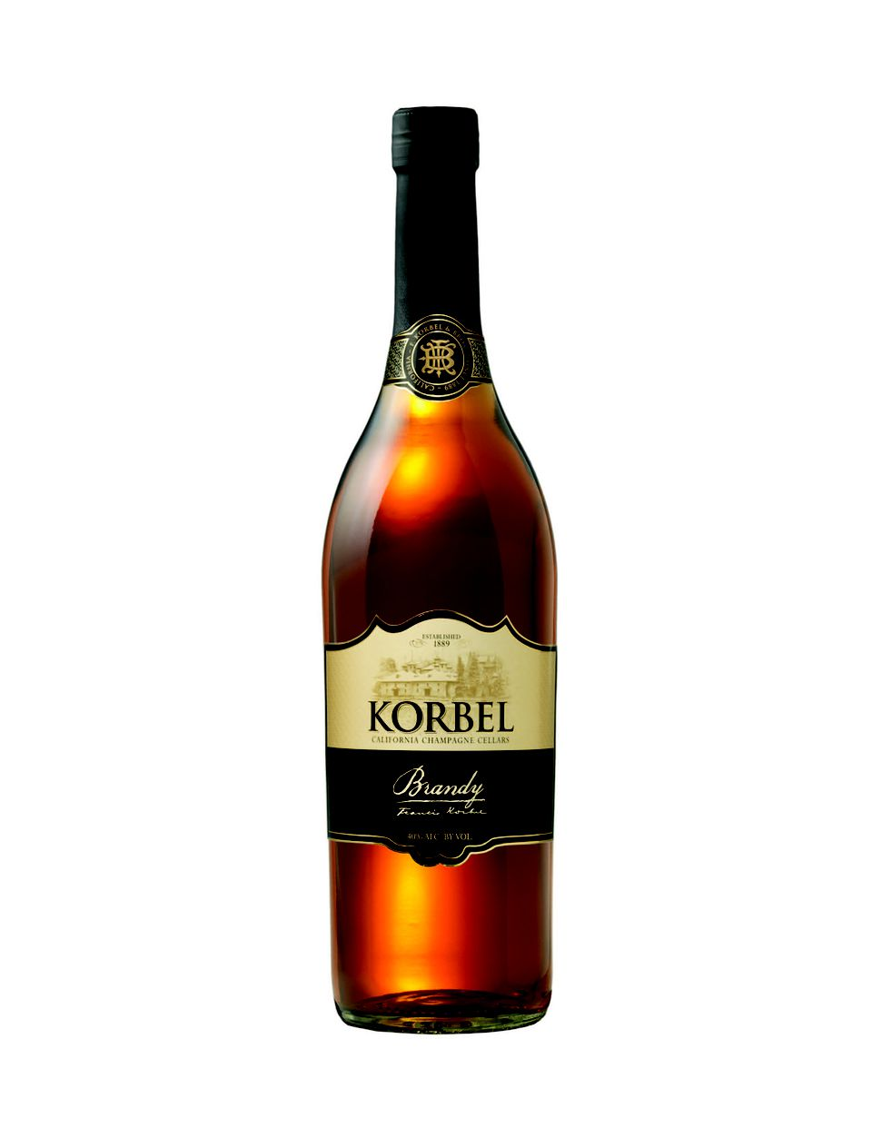Korbel Brandy - California American Brandy