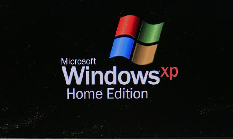 Windows XP Home Edition screen