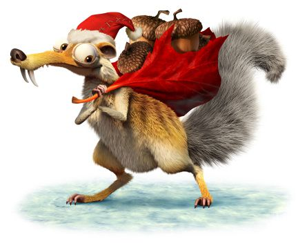 Scrat - Ice Age - A Mammoth Christmas