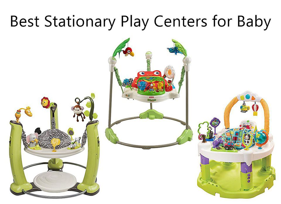Best Play Centers and Exersaucers for Baby