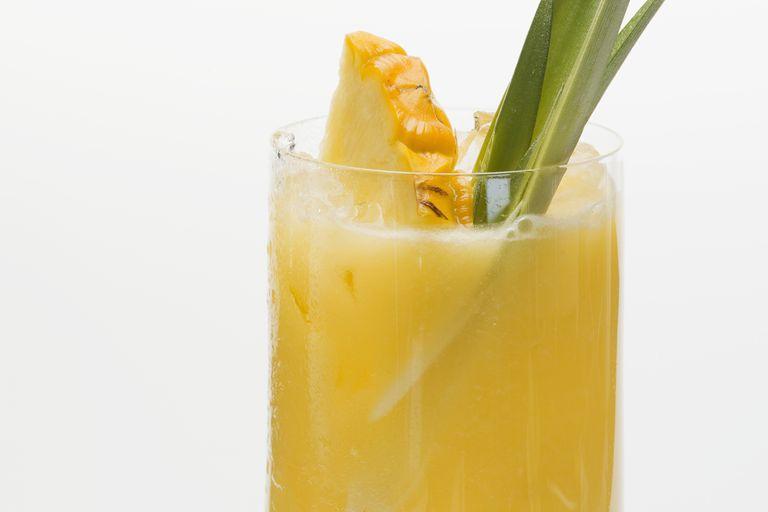Pineapple chili margarita