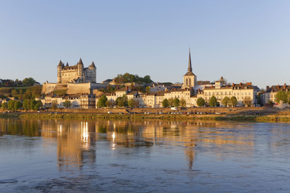 Saumur in the Loire Valley