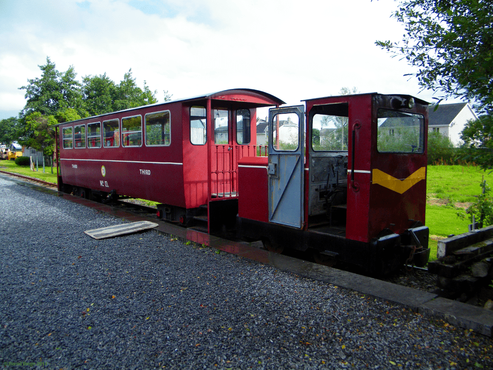 All Aboard at the Cavan and Leitrim Railway in Dromod.