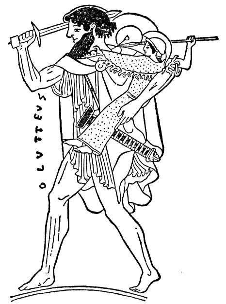 Ulysses carrying the Palladium