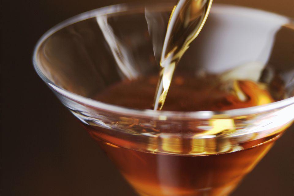 The Manhattan 101 Cocktail with Wild Turkey Bourbon Whiskey