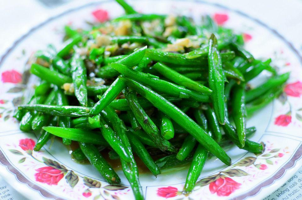 green bean dish