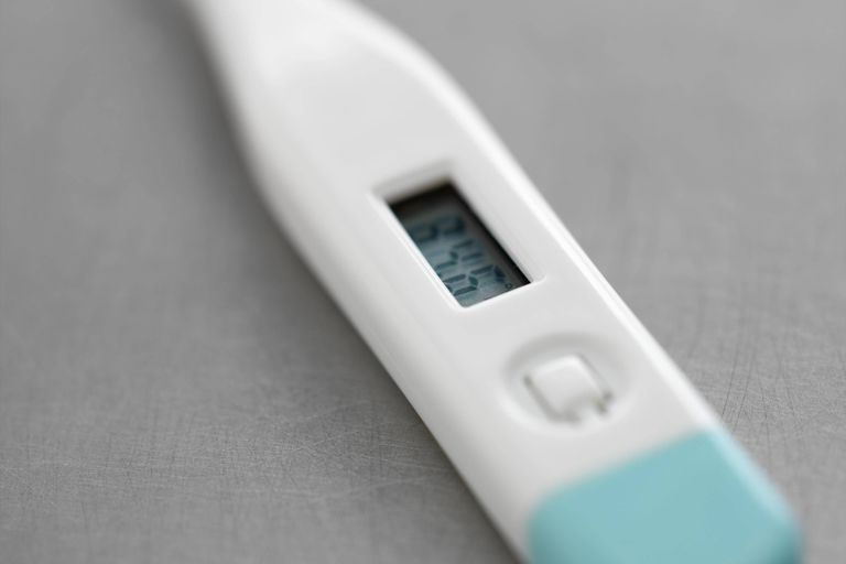 Digital basal body temperature thermometers