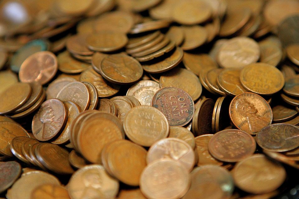 United States Wheat Pennies Cents