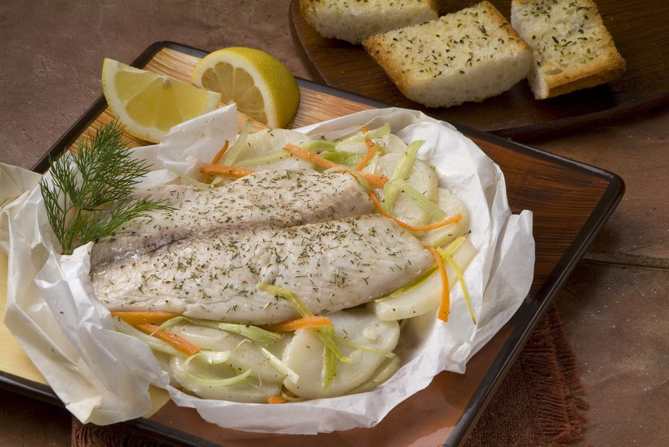 Baked Tilapia With Garlic