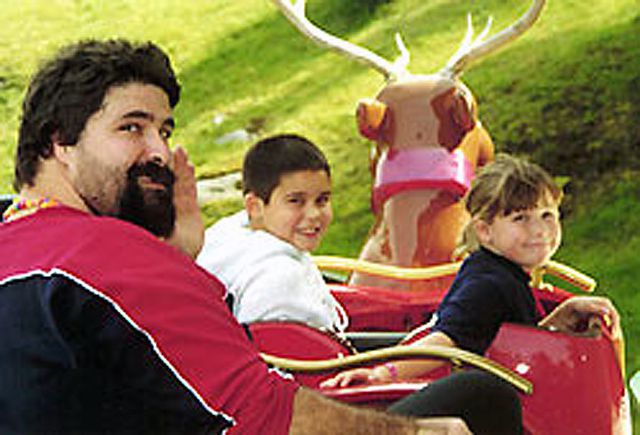 Mick Foley at Santa's Village