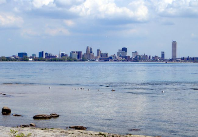 Western New York skyline