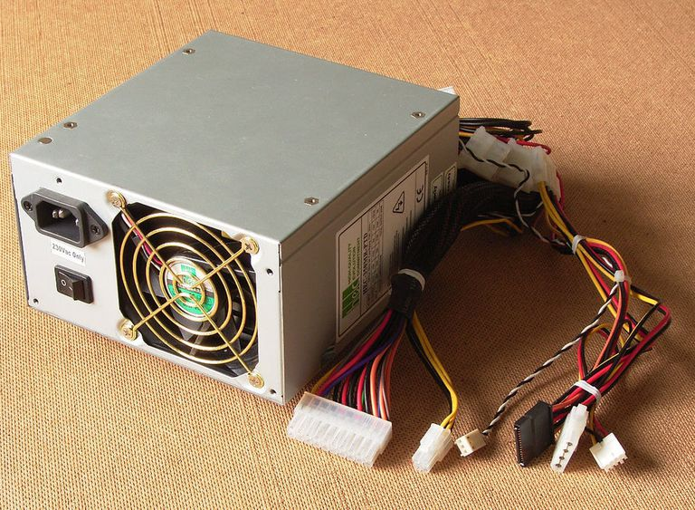 An example of a desktop power supply.