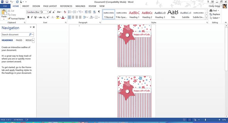 greeting card templates microsoft word