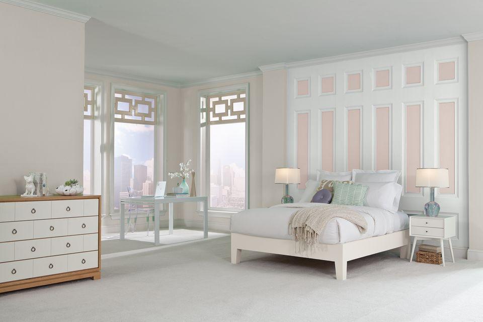 10 Pretty Colors for a Girl's Room | Sherwin-Williams Spun Sugar