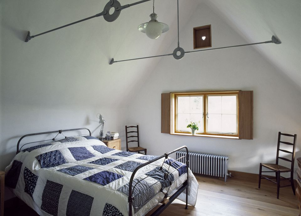 Attic Converted into Bedroom