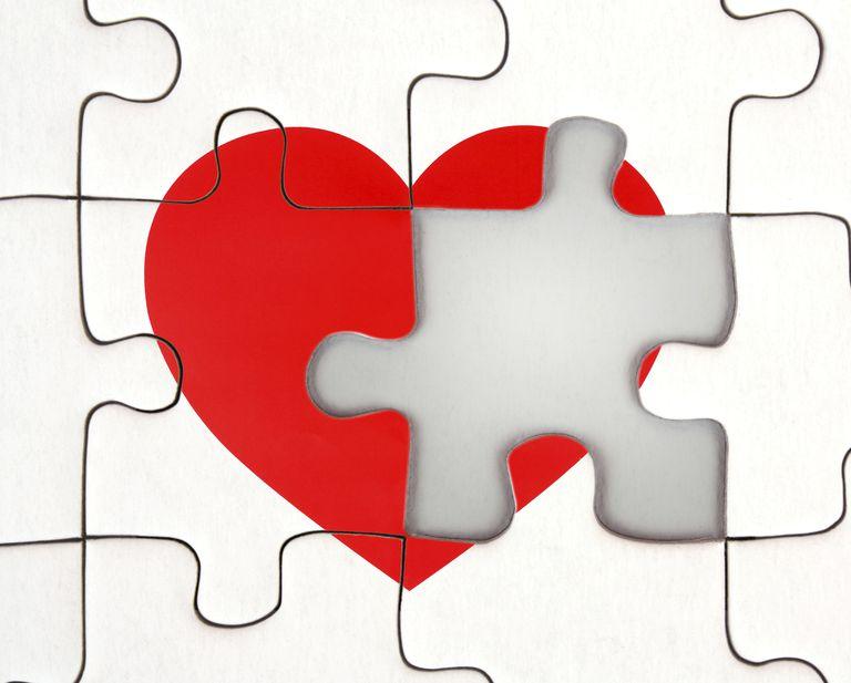 Broken Heart - Missing Puzzle Piece