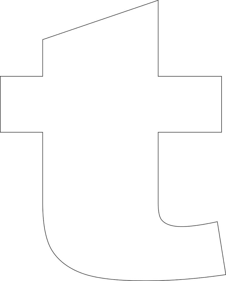 Free printable lower case alphabet letter template t free printable lower case alphabet template spiritdancerdesigns Images