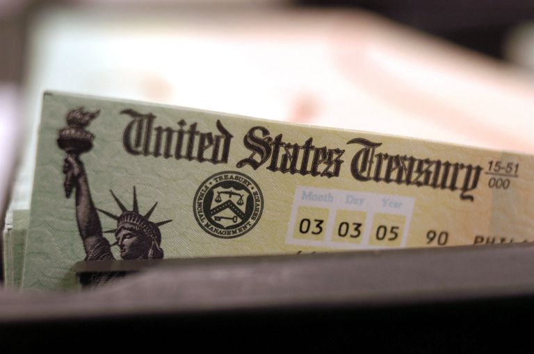 SSI Check from United States Treasury