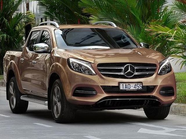 The Mercedes-Benz GLT Pickup Truck: Coming Soon