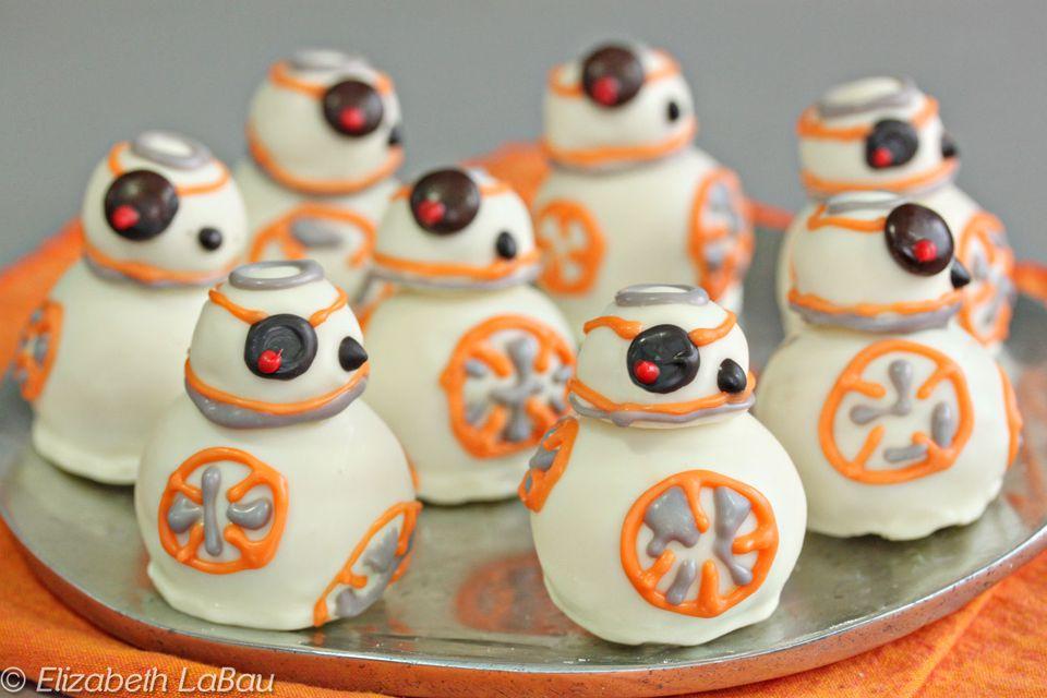 BB-8 Cake Balls