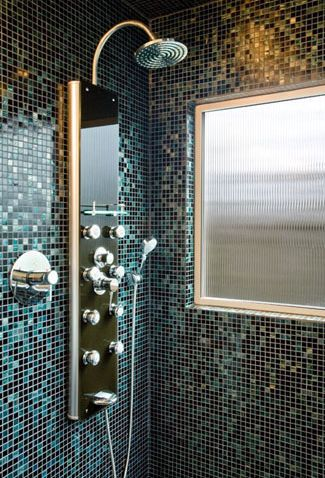 glass mosaic tile shower photo gallery 18484