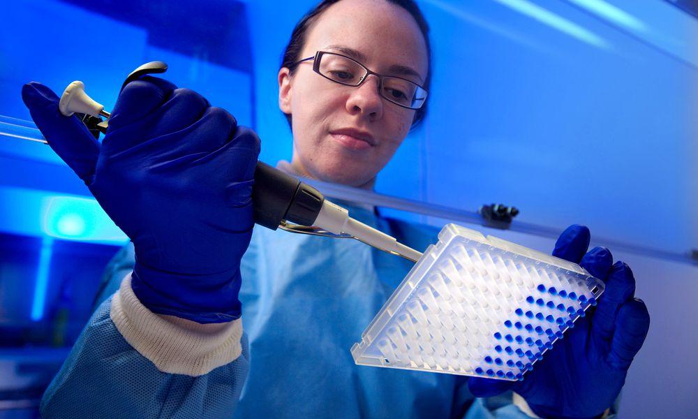 Microbiologist Tatiana Travis