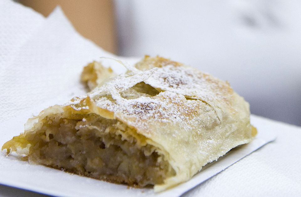 Hungarian Apple Strudel