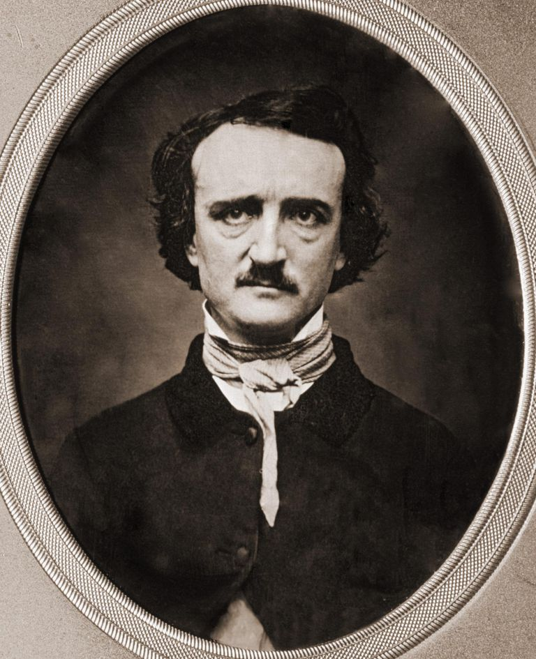 Edgar Allen Poe by Benjamin D. Maxhan, Daguerreotype