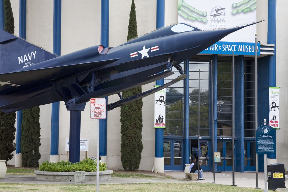 San Digo Air and Space Museum: A Great Place for a Kid's Birthday Party