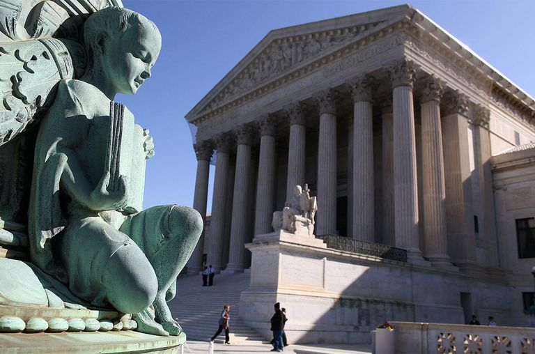 The exterior of the U.S. Supreme Court