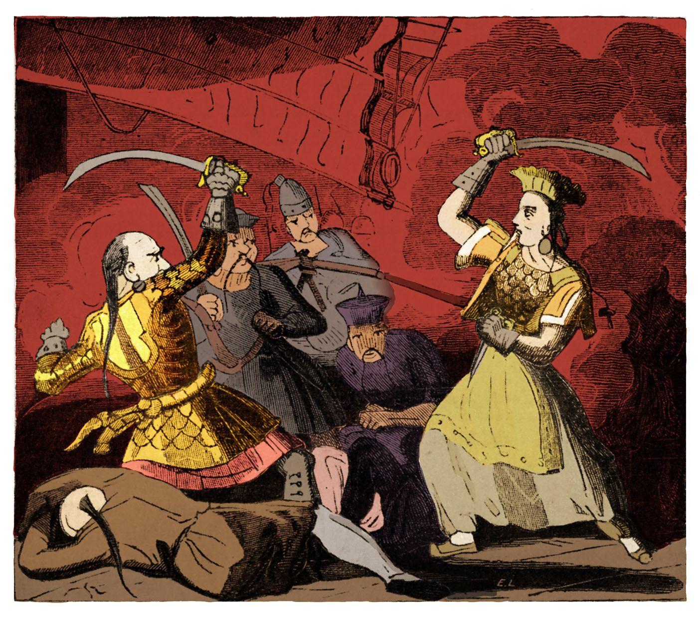 Zheng Shi Pirate Lady Of China