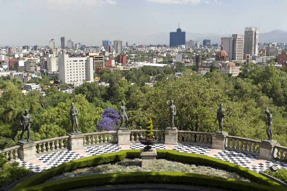 Bosque Chapultepec Mexico City Park