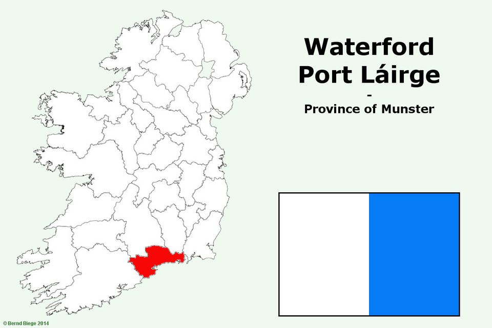 County Waterford - putting it on the Irish map
