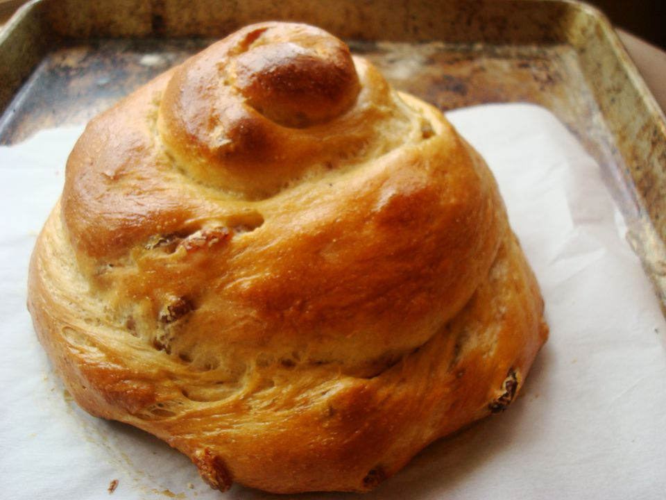 Honey Wheat Raisin Challah