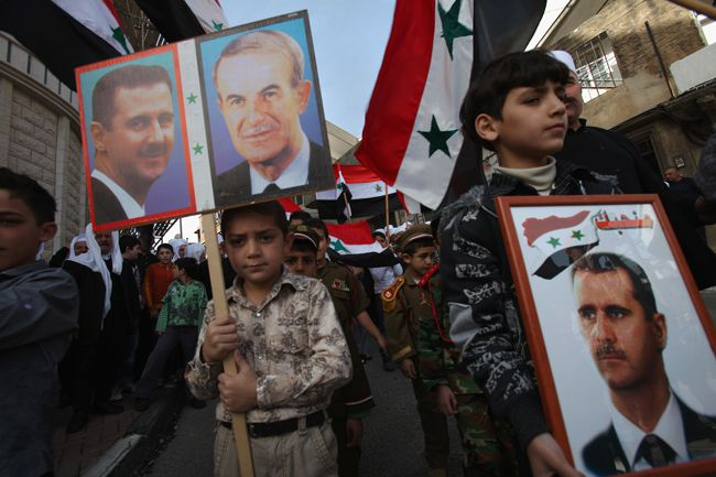 Bashar al-Assad golan heights