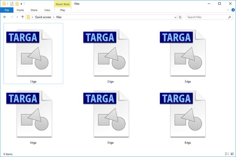 TGA Files