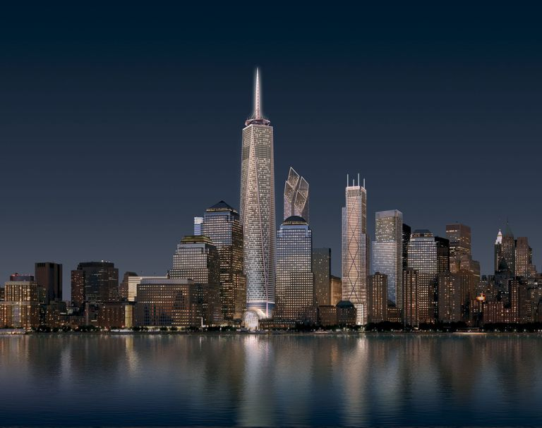 World Trade Center Office Towers, Designs From September 2006