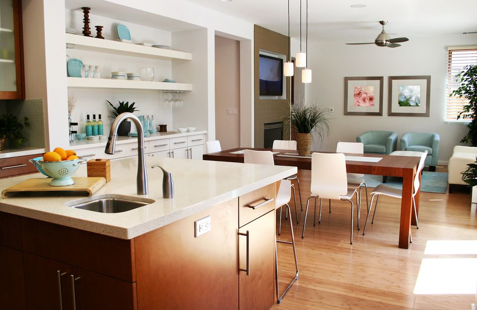 house cleaning tips kitchen living room
