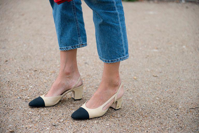 Black Boots Tan Pants