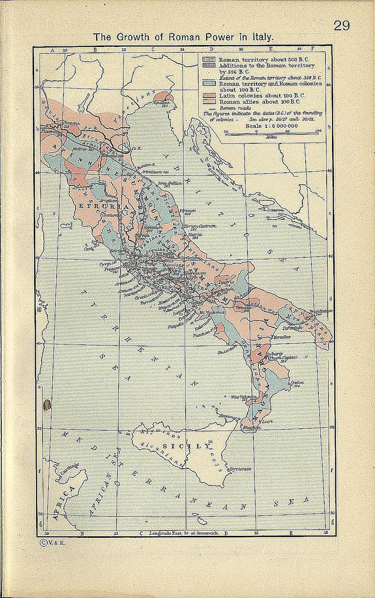 Italy - The Growth of Roman Power in Italy