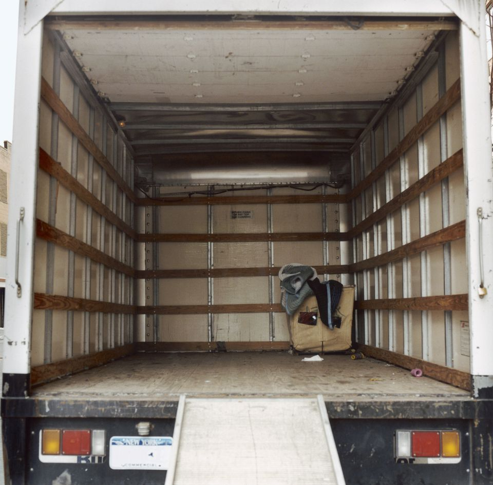 Empty Moving Van