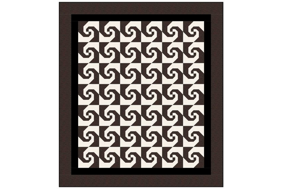 Try An Easy Snail S Trail Quilt Pattern