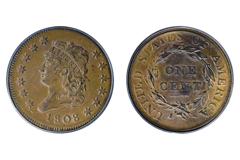 1808 United States Large Cent
