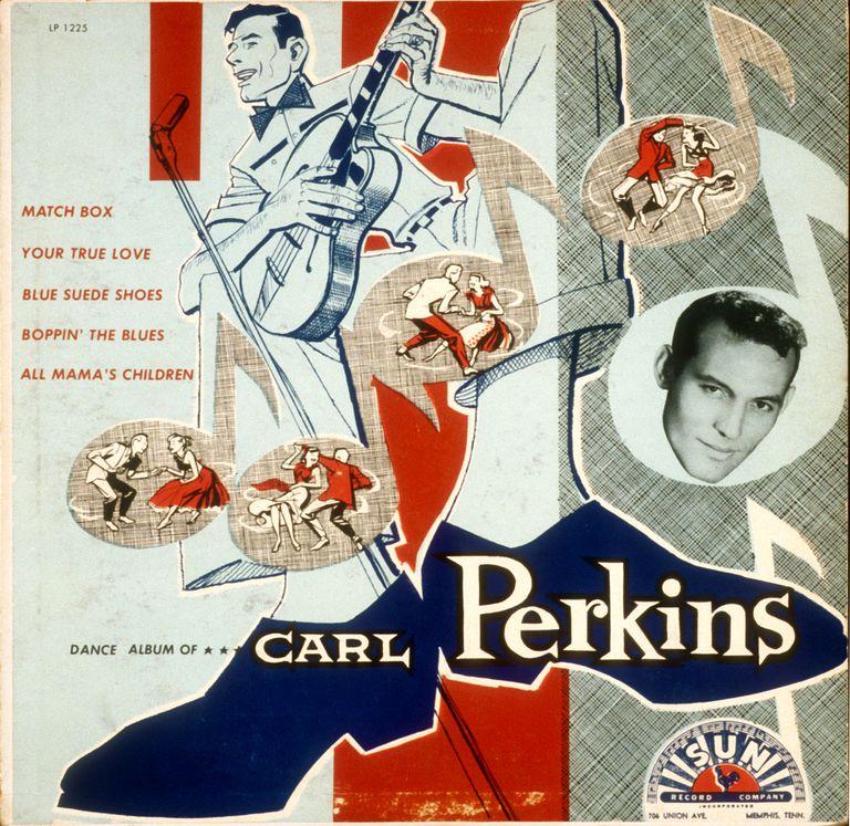 """'Dance Album of.....Carl Perkins"""""""