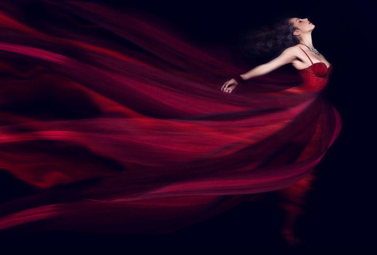 A Fiery, Aries Woman