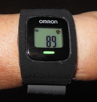 Omron HR-500U Strapless Heart Rate Monitor