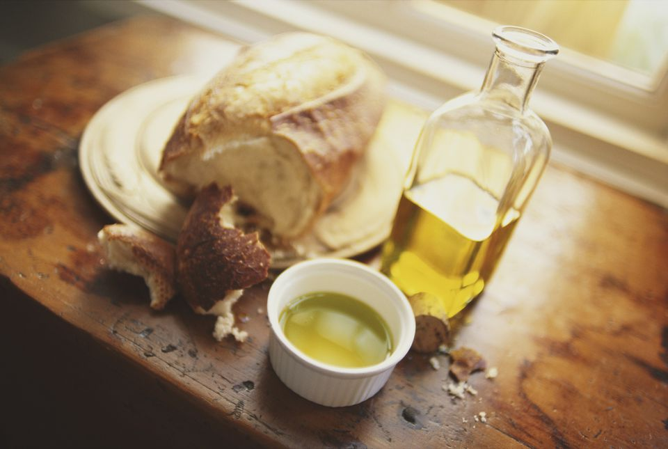 French Bread and Olive Oil