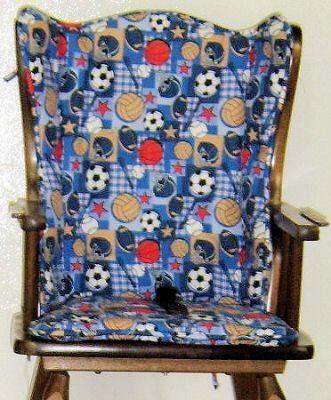 Custon Wooden Highchair Cushion