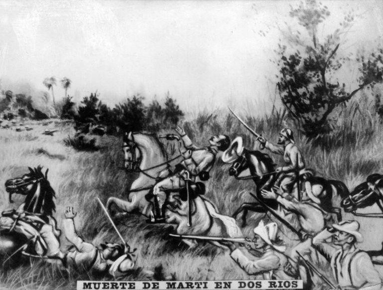 Muerte de José Martí en Dos Ríos