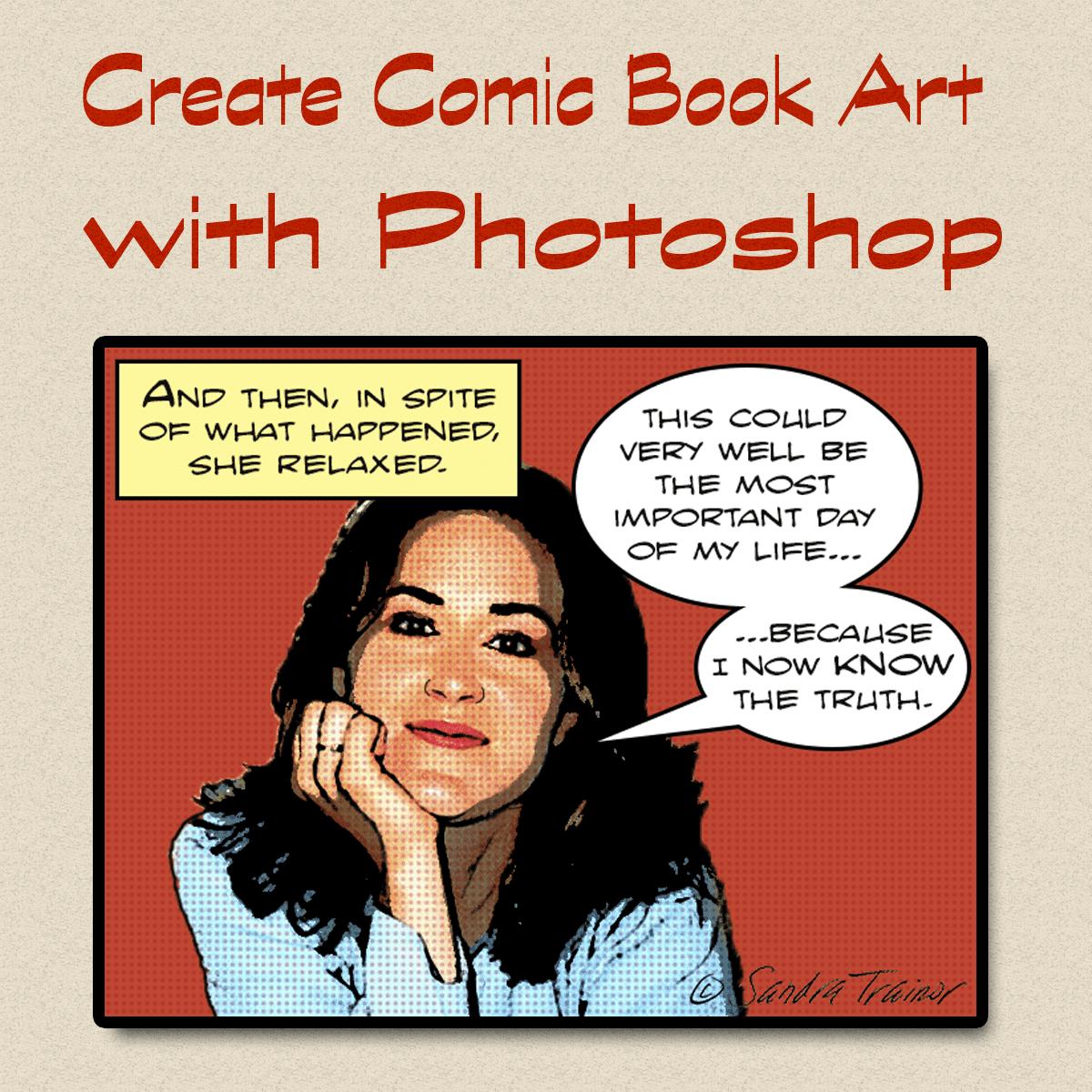 Use photoshop to make lichtenstein style comic book art baditri Gallery
